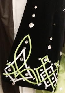 irish dance dress close up 4