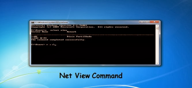 net view command