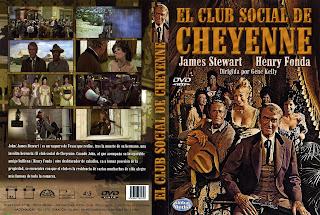 Carátula dvd: El club social cheyenne (1970)