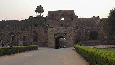 Old Fort Delhi India 902