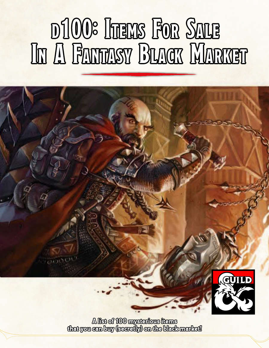 THOUGHT EATER: Free and Pay-What-You-Want 5e DMs Guild
