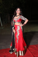 Sirisha Dasari in Red Ghagra Backless Choli ~  033.JPG