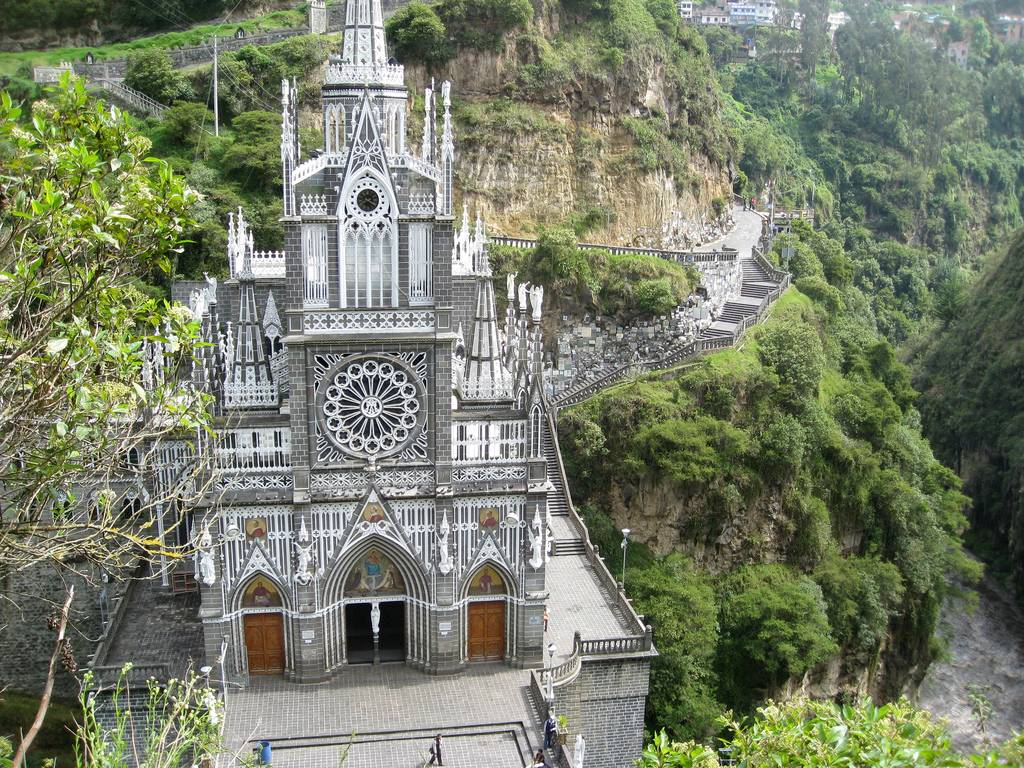 pix grove las lajas cathedral sanctuary
