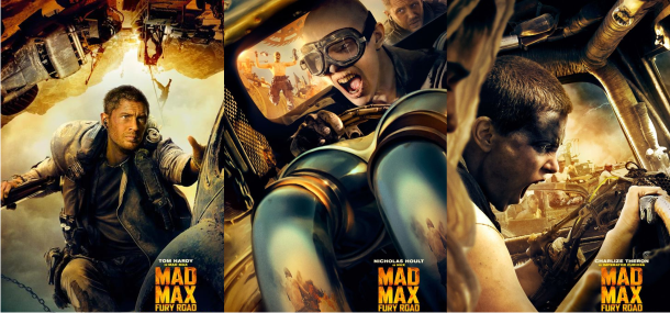 Tom Hardy e Charlize Theron no intenso e brutal trailer de Mad Max: Fury Road