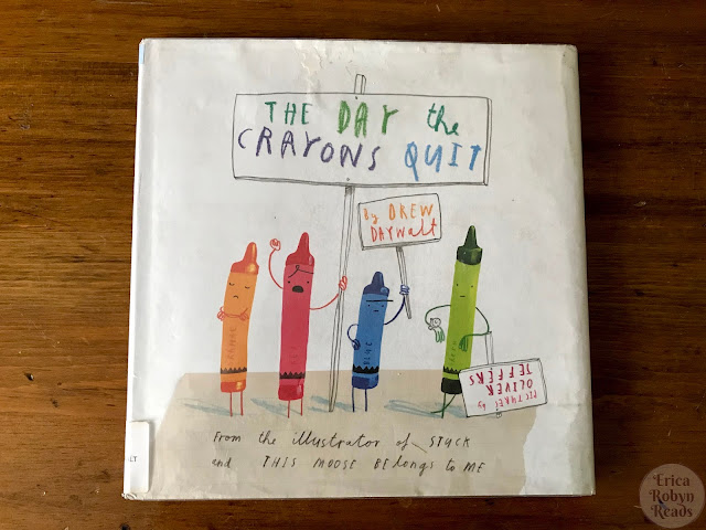 Children's Book Review of The Day The Crayons Quit by Drew Daywalt, Illustrated by Oliver Jeffers