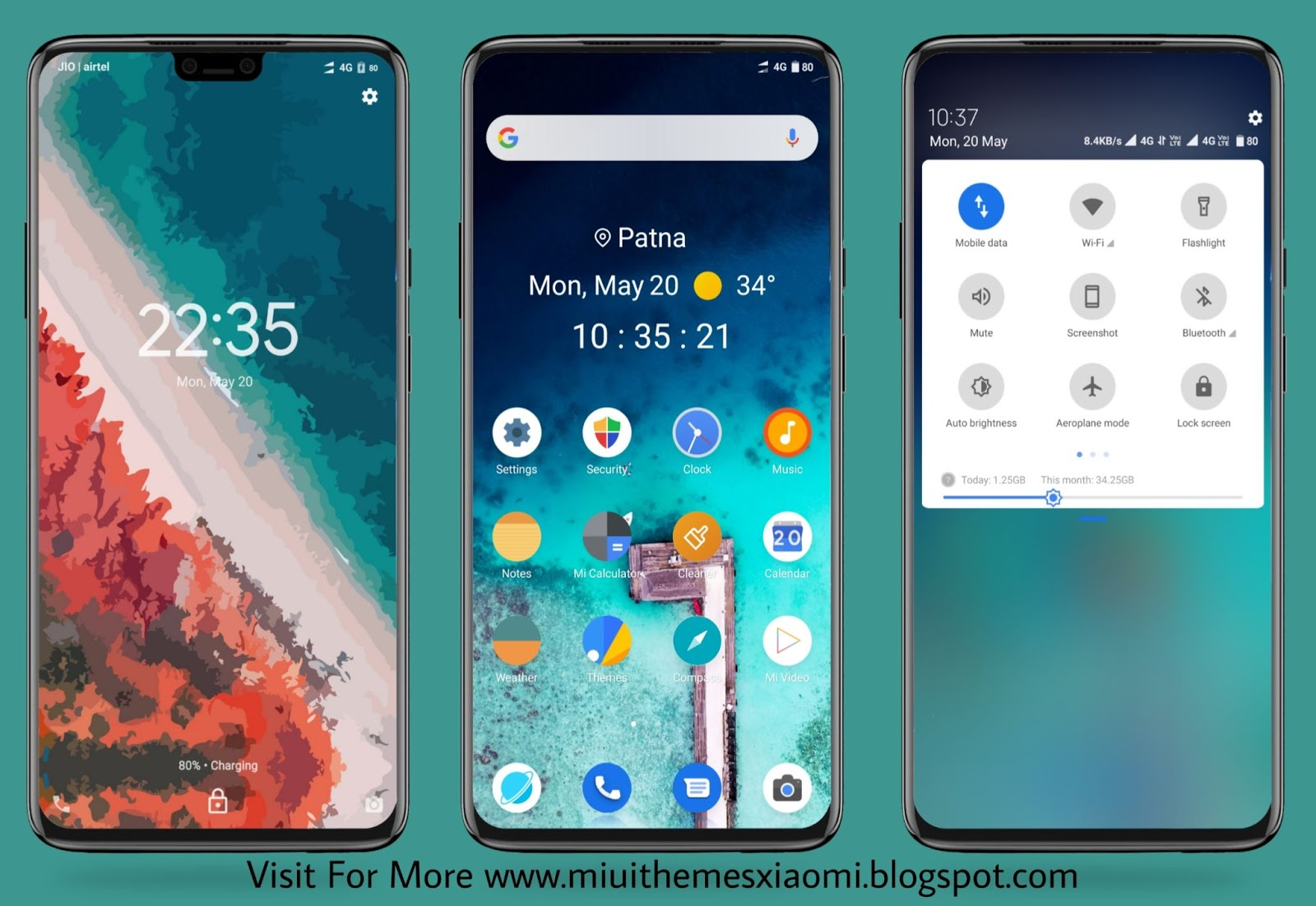Android 10 Q MIUI Theme Download For Xiaomi Mobile || MIUI Themes