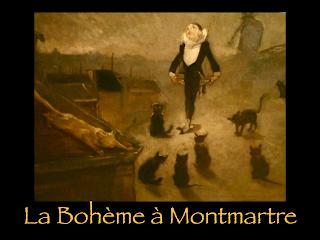 Bohème à Montmartre