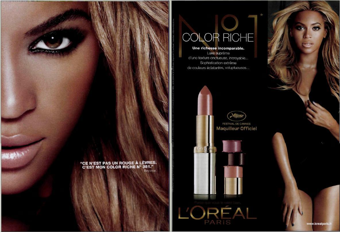 Paris Loral Color Riche Ad Campaign Springsummer 2011