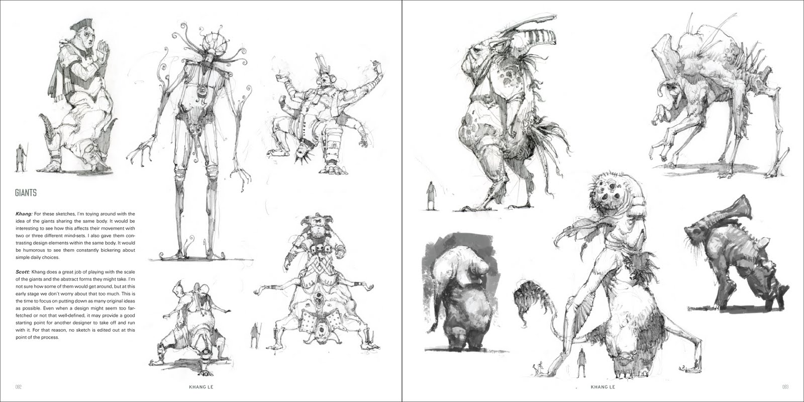 Character And Creature Design Notes The Use Of