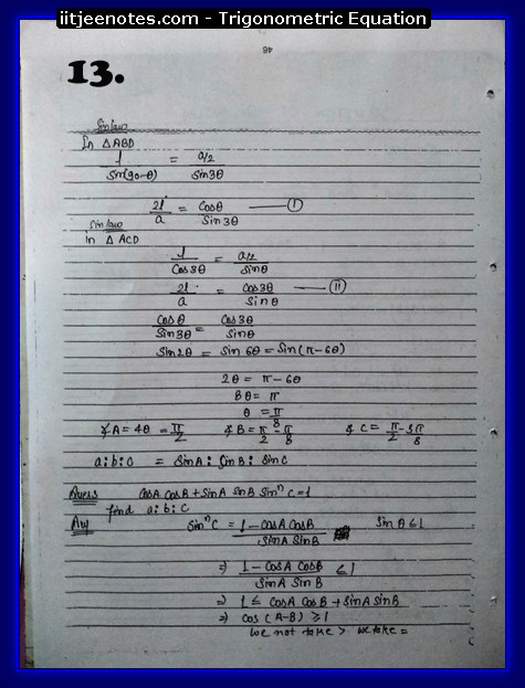 Trigonometric Equation images3