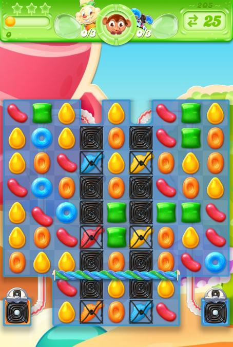 Candy Crush Jelly Saga 205
