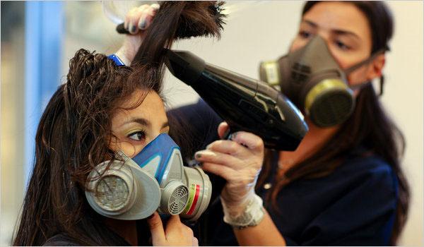 مستشفى سرطان الاطفال 57357 تحذر السيدات من استخدام الكيراتين وكريمات فرد الشعر