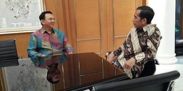 Jokowi Bilang Urusan DKI Kok Malah Geser Presiden, Ahok Malah Bilang...