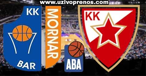 ABA Liga: Mornar - Crvena Zvezda LIVE PRENOS ONLINE