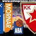 ABA Liga POLUFINALE: Crvena Zvezda - Mornar LIVE PRENOS ONLINE [ArenaSport 18.03.2018 19:00]