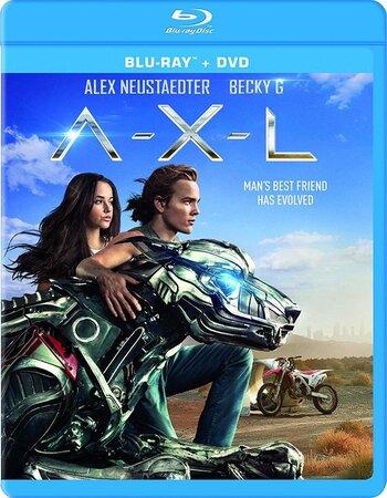 AXL (2018) Dual Audio Hindi ORG 480p BluRay x264 300MB ESubs Movie Download