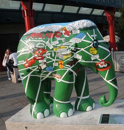 Elephant Parade, elefanti per Milano
