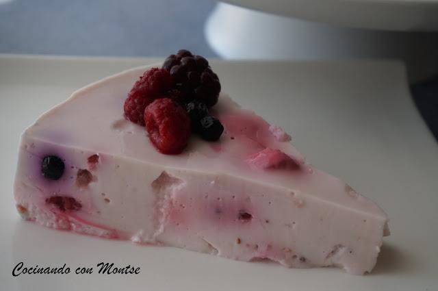 Tarta De Yogurt  Ligera