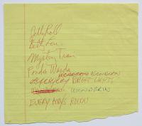 Setlist (c) Jeff Gold, recordmecca.com