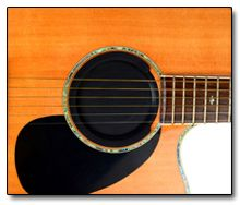 Tapa para la Boca de la Guitarra Acústica