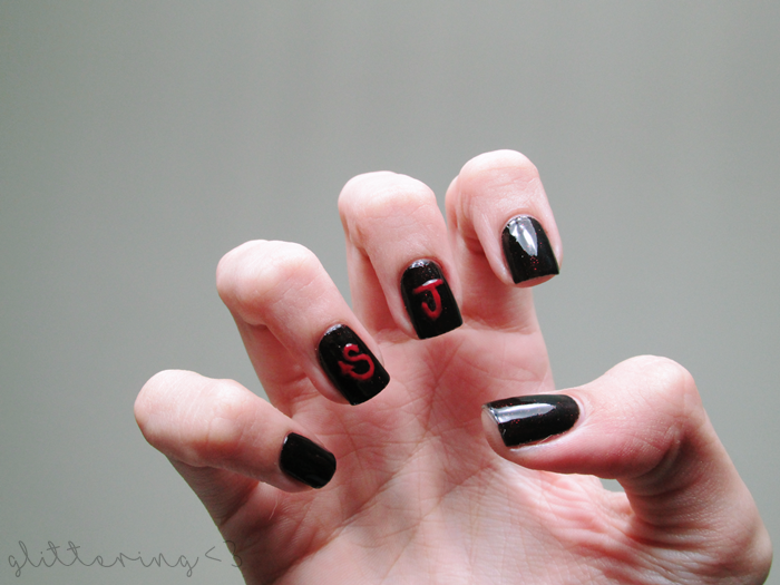 Nail Art inspirada em Devil do Super Junior