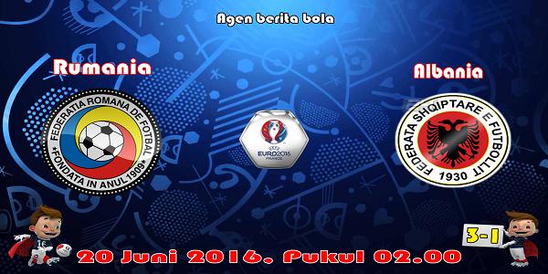 prediksi bola rumania vs albania euro 2016