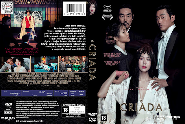 Capa DVD A Criada [Exclusiva]