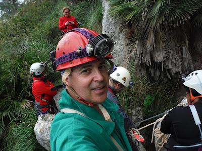Avenc de la canal de la Comafreda  -Foto: Rafael Minguillón  -GAME