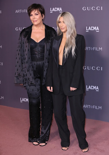Kris Jenner y Kim Kardashian LACMA Art + Film Gala