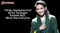 Till My Heartaches End free download (karaoke, mp3, minus one and lyrics)