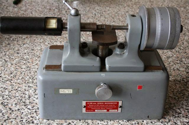 Measurement of Major diameter of a screw thread