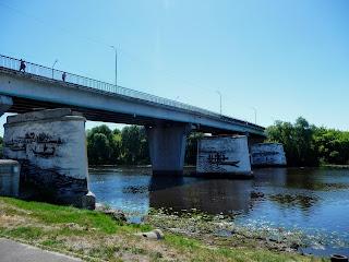 Пінськ. Автодорожній міст через Піну