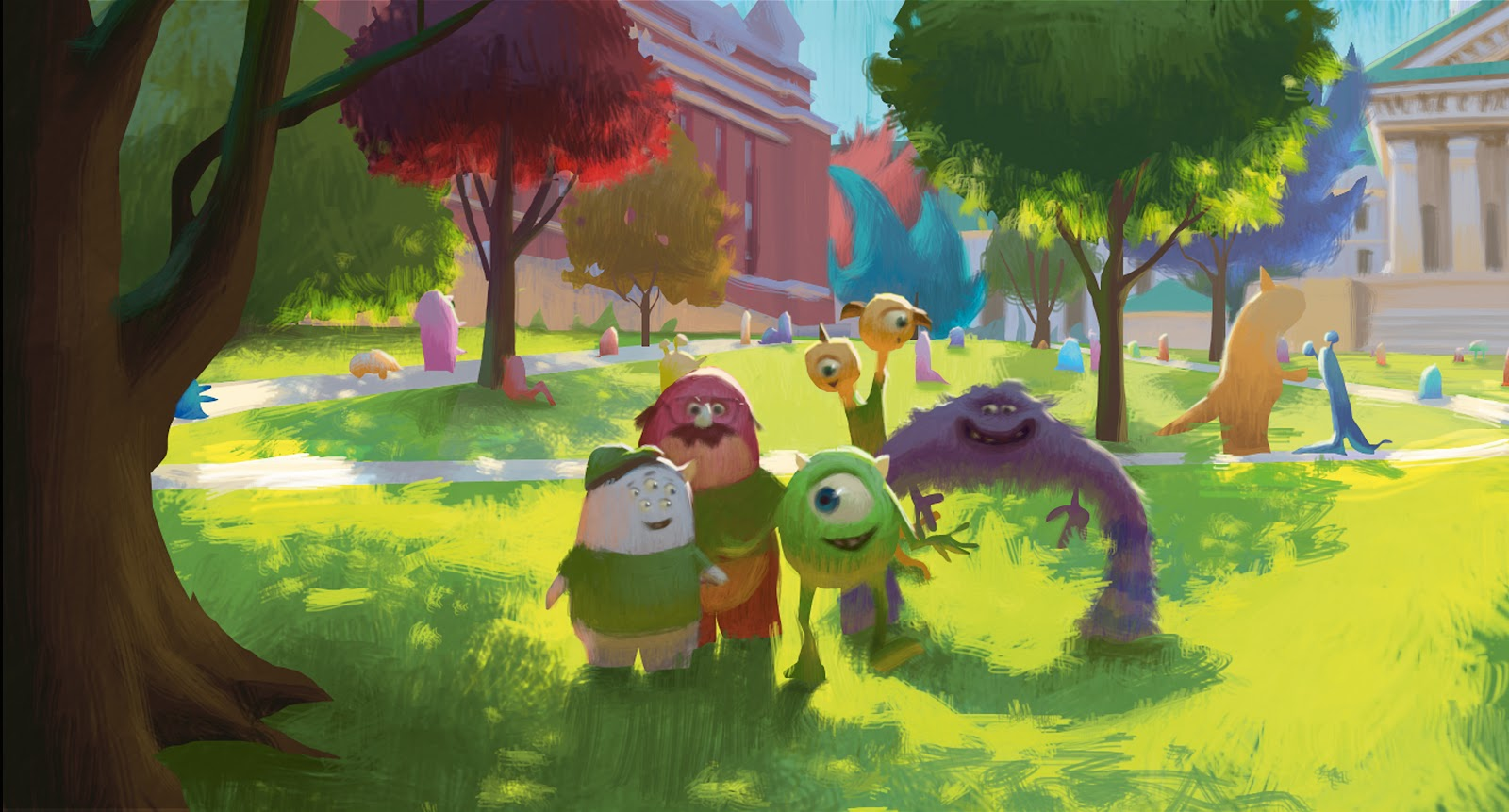 The Art Of Monsters University Detailed Book Review Pixar Post