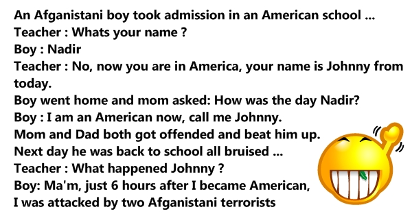 afghanistan funny jokes