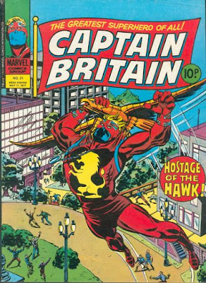 Marvel UK, Captain Britain #31