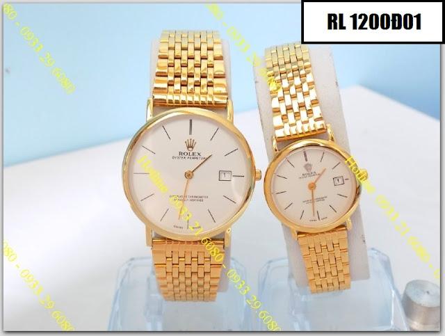 Đồng hồ cặp đôi Rolex 1200Đ01