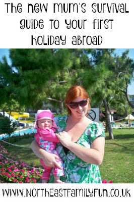 The new mum's survival guide to your first holiday abroad