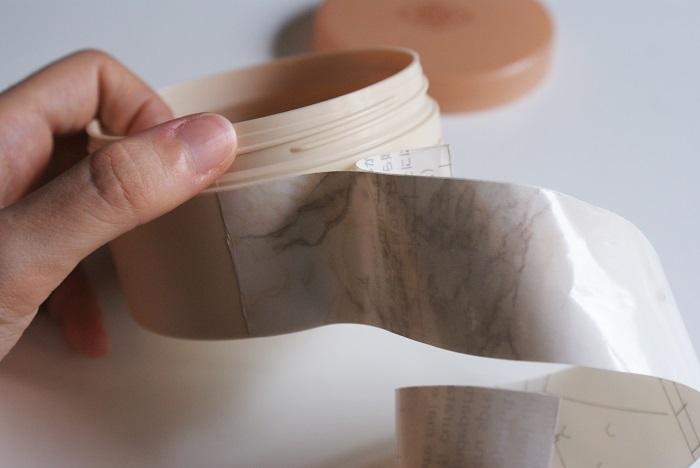 scatola marmo marmorizzata faidate