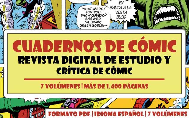 Descargar CuCo Revista Digital de Estudio y Crítica de Cómic - Cuadernos de Cómic 7 Volúmenes en PDF