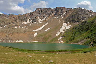 Lake Ann in the Collegiate Peaks Wilderness is located between Leadville and Buena Vista Colorado