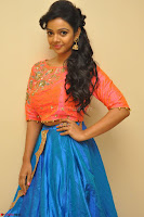 Nithya Shetty in Orange Choli at Kalamandir Foundation 7th anniversary Celebrations ~  Actress Galleries 010.JPG