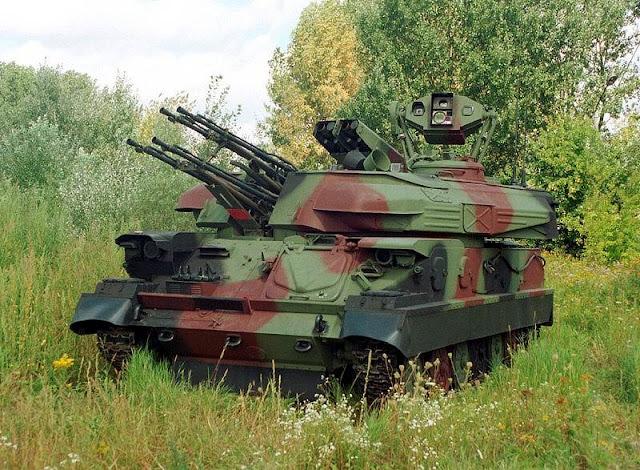 Rusia Kerahkan Senjata Mematikan ZSU-23-4 Shilka Untuk Bantai Mujahiddin Suriah