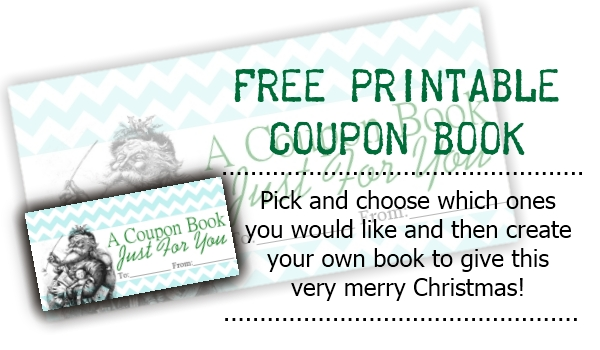 Sweetly Scrapped Free Printable Coupon Book - free coupon book template