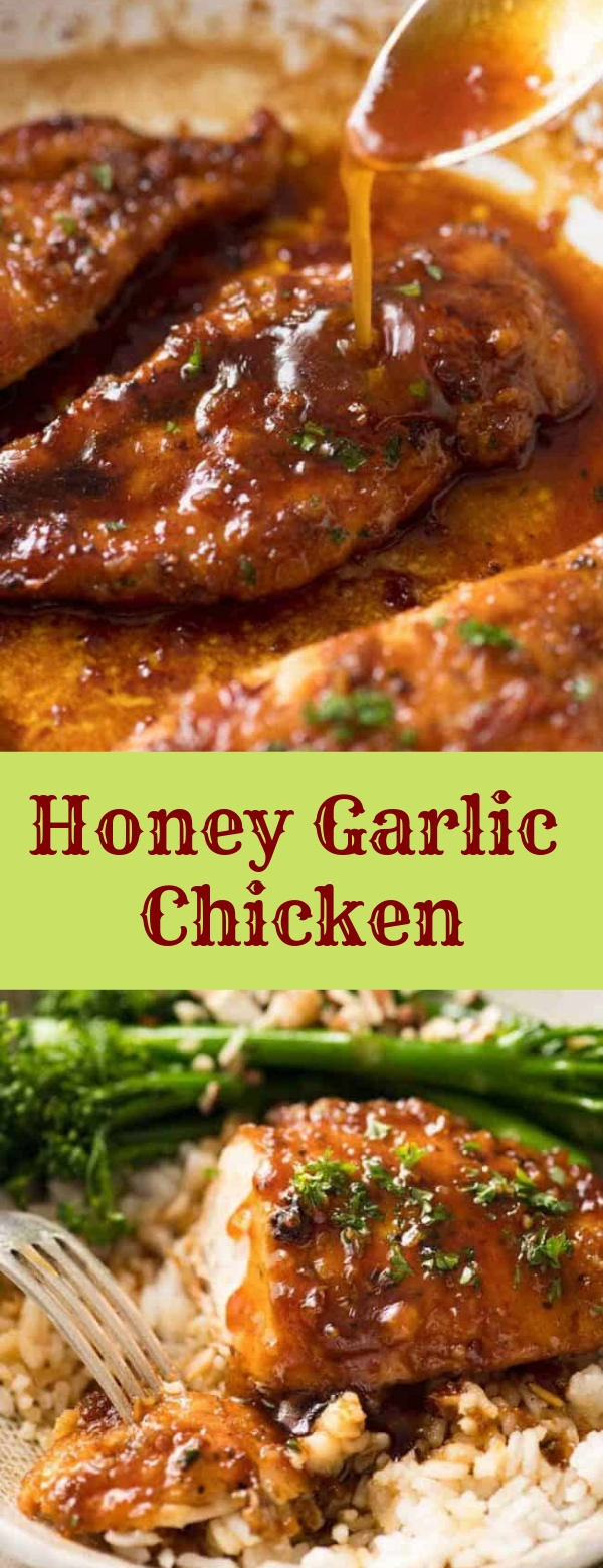 Honey Garlic Chicken #HONEY #GARLIC #CHICKEN #DINNER