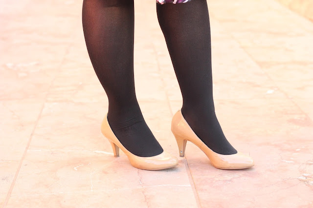 Black Tights, Nude Heels