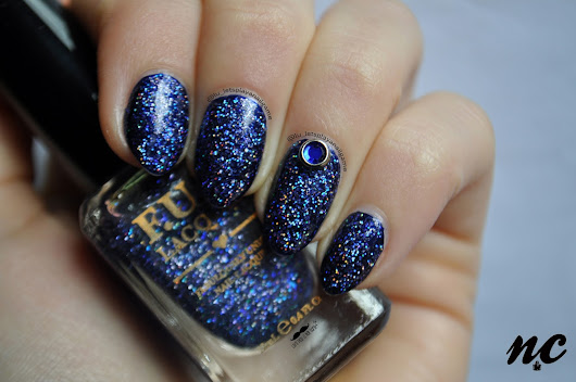 Galaxy by FUN Lacquer + Lady Queen  | Nail Crimes
