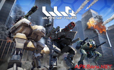 Walking War Robots v1.5.1 MOD Apk+Data Terbaru