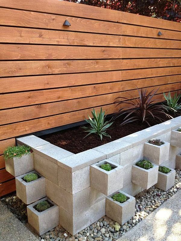 TSTUNN%257E2 25 Stunning Planter Concrete Blocks Alternatives to Transform Your Backyard And That Are All Your Front Porch Needs Interior