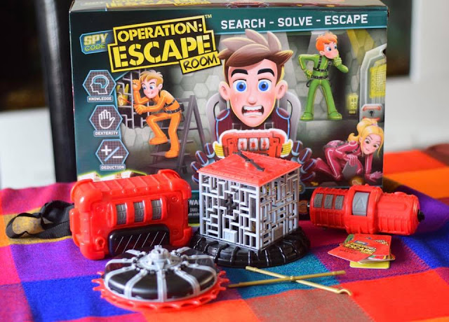 Spy Code Operation Escape Room board game