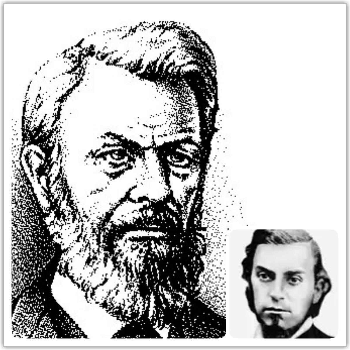 Нельсон Барборр и Чарлз Рассел